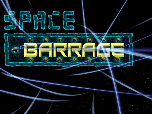 Space Barrage Title